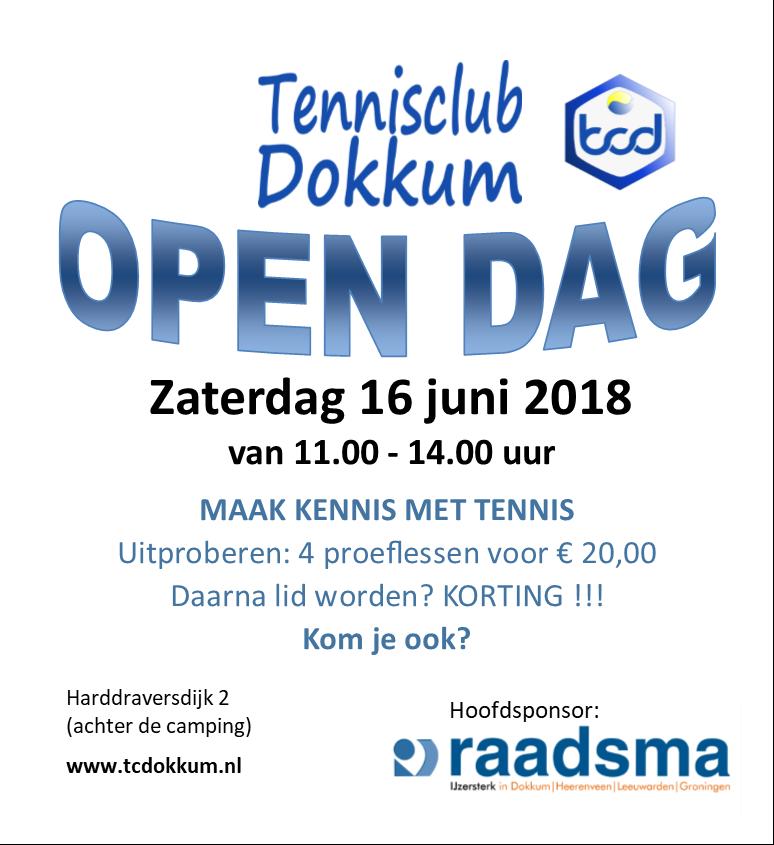 Open dag 2018